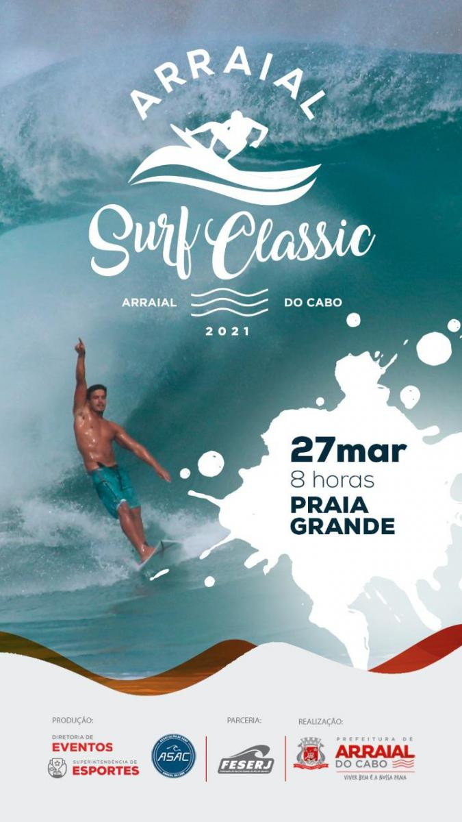 Poster Arraial Surf Classic
