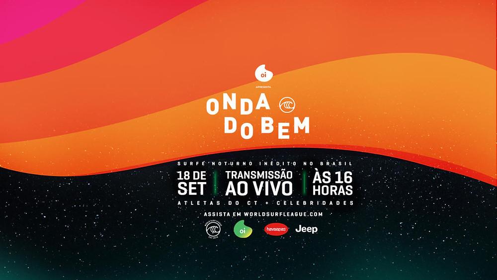 Poster do evento Onda do Bem