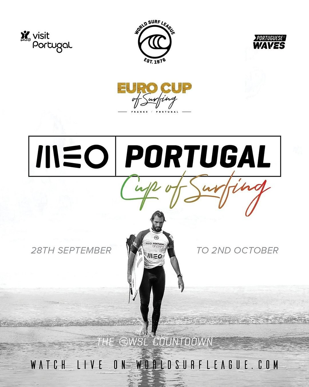 Poster MEO Portugal Cup of Surfing