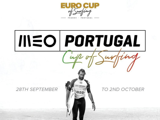 Data confirmada para o MEO Portugal Cup of Surfing