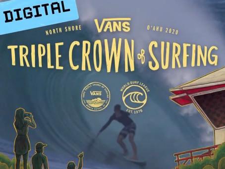 O Vans Triple Crown of Surfing vai ser virtual em 2020