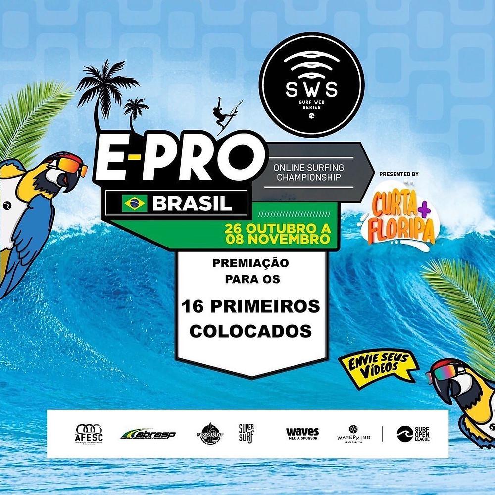 Poster do evento no Brasil