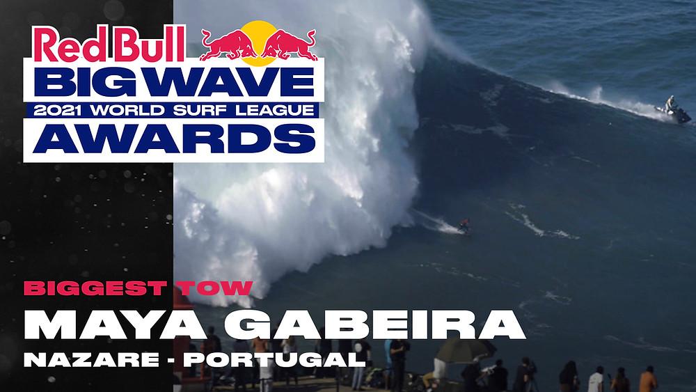 Maya Gabeira Maior Onda Tow-In