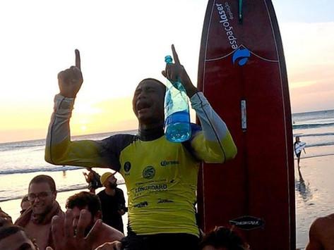 Chloe Calmon e Carlos Bahia são os campeões brasileiros de longboard 2020