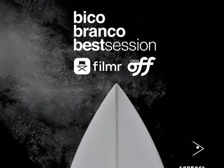 """Campeonato virtual de surf """"Bico Branco"""" começa nesta quarta-feira em novo formato"""