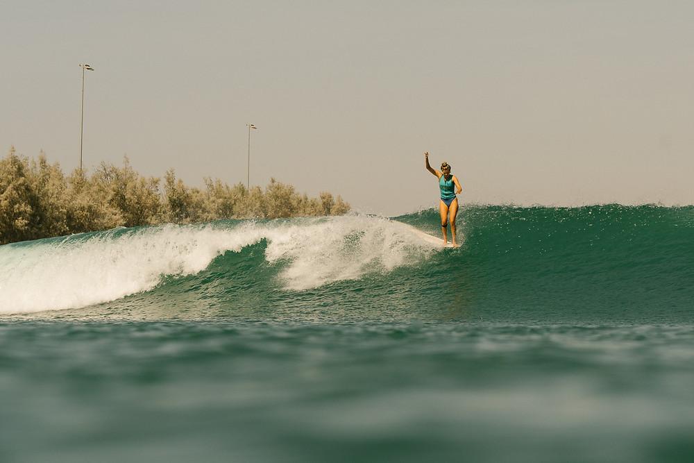 Soleil Errico no Surf Ranch