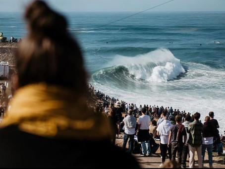 Após abertura de janela para o Nazaré Tow Surfing Challenge, surf é proibido na Praia do Norte