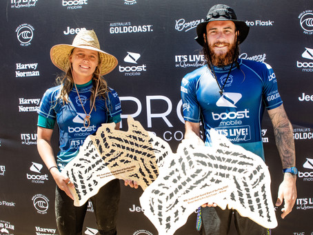 Tubos e reviravoltas nos dois dias de Boost Mobile Pro Gold Coast