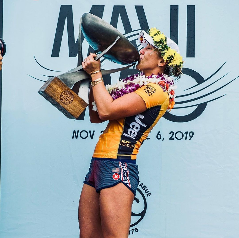 Carissa Moore, campeã mundial de 2019