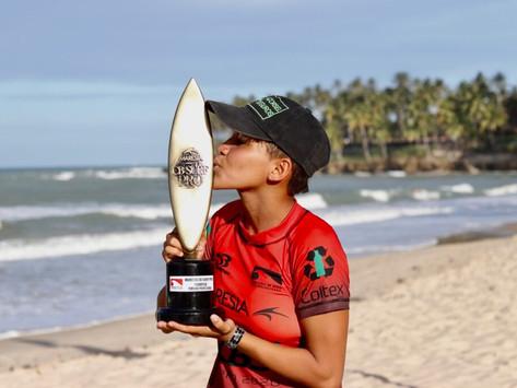 Segunda etapa do CBSurf Pro Tour chega ao fim no Ceará com duas locais se destacando