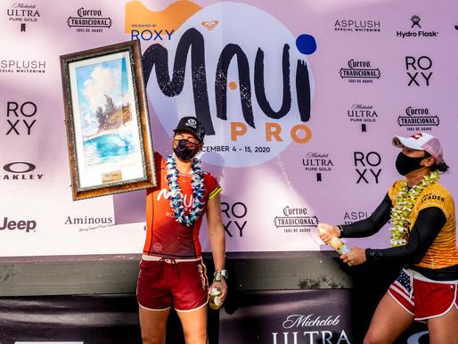 Tyler Wright é campeã do Maui Pro em evento histórico com finais em Pipeline
