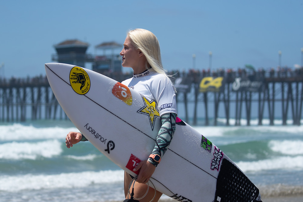 Tati Weston-Webb no Super Girl Pro 2019