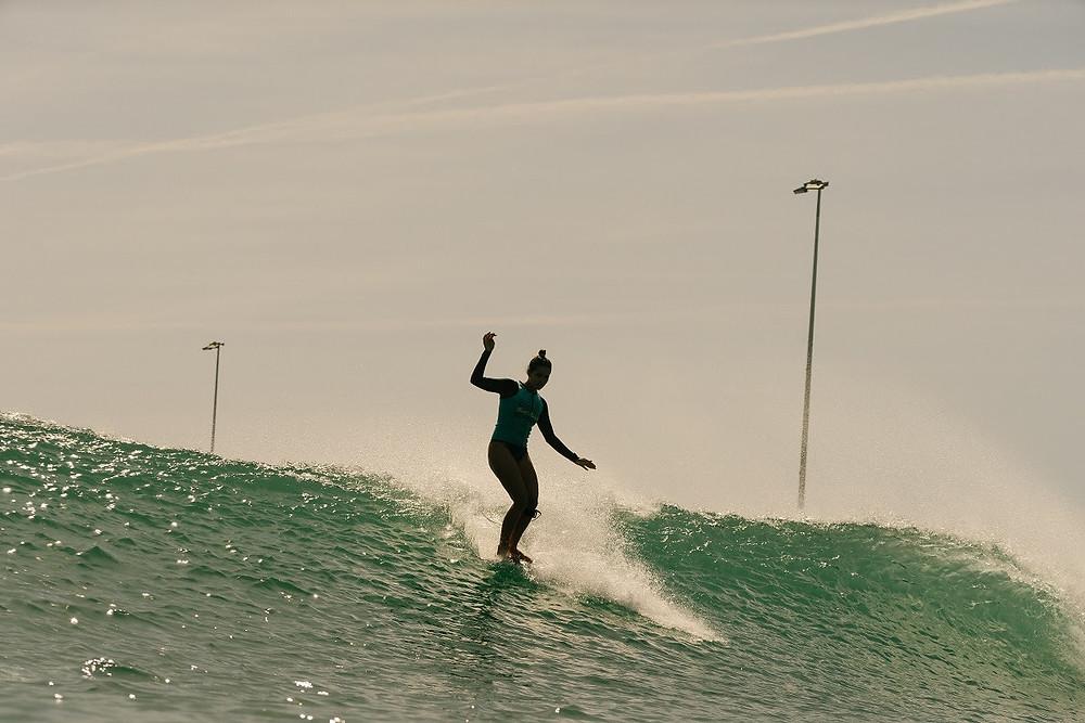 Chloe Calmon no Surf Ranch