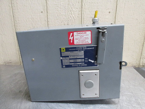 Square D Electric SK5271V Transformer Disconnect Primary 230/460v Secondary 115v