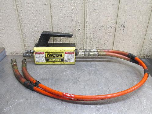 Fairmont Dynapress H6710B Hydraulic Intensifier w/Hose