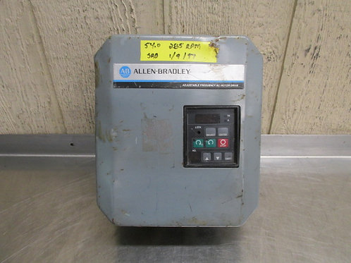 Allen Bradley 1333-AAA AC Motor Drive Variable Frequency VFD 3 PH 5A
