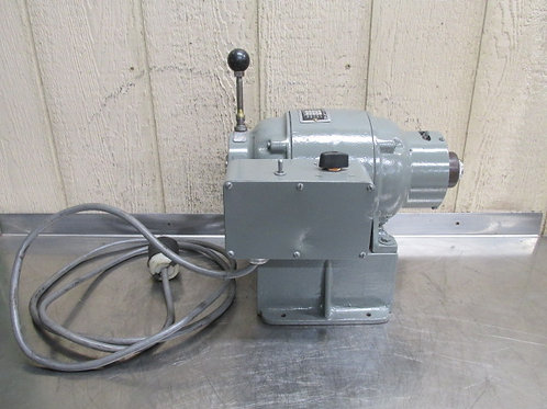 Cozier Model 2ABPL Speed Lathe Bench Top 2 Speed 5C Collet 1800/3600 RPM 220v