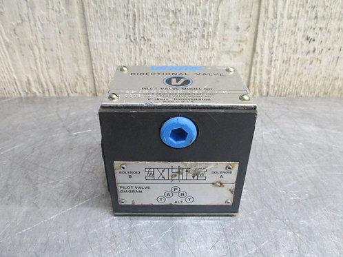 Vickers DG4S4-016C-U-H-60 Directional Control Solenoid Valve Block NO COILS
