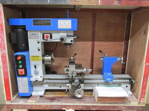 WMT MP800 Multi-Purpose Lathe Mill 3 in 1 Milling Machine Combo Smithy NEW