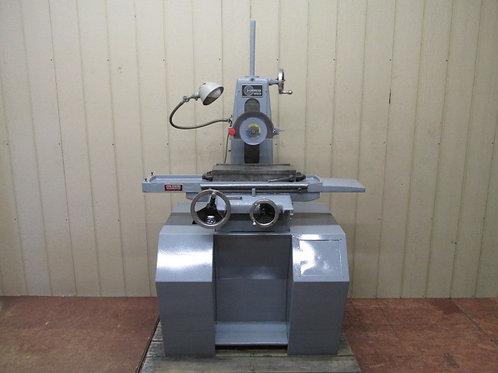 """Harig Super 618 Manual Surface Grinder 6"""" x 18"""" Magnetic Chuck 1 HP 3 PH 220v"""