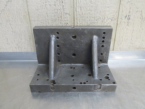 """12"""" x 8"""" x 6-1/2"""" Steel Machinist Right Angle Plate Setup Table Block"""