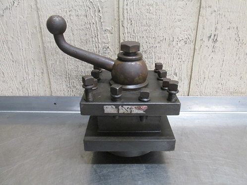 """Enco HD-7 Lathe Tool Holder Post 7"""" Square Indexing Turret Style Quick-Change"""