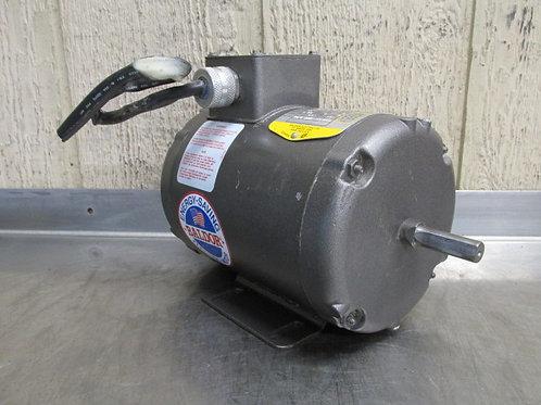 Baldor M3455-NV Electric Motor 1/4 HP 208-230/460v 1140 RPM 3 PH 48 Frame