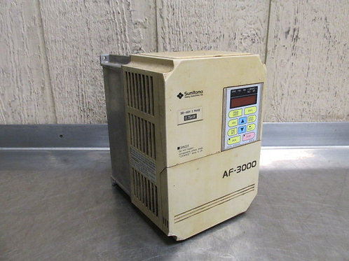 Sumitomo AF3004-A75-U AC Motor Drive Variable Frequency VFD 1.5 HP 3 PH