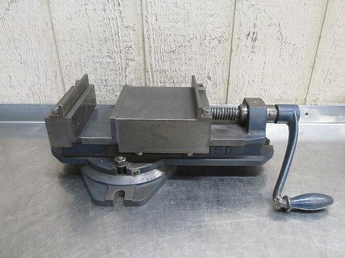 "N.B.K #150 Vise 6"" Jaws Machinist Milling Machine Drill Press Vice Swivel Base"