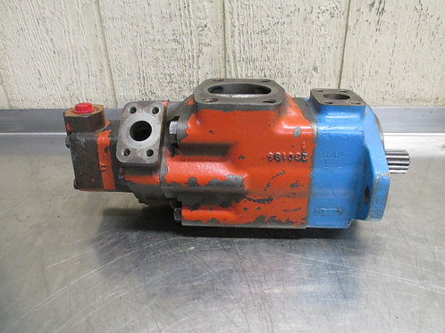 Vickers 3525VQSV10S-30A-21S-297CCCL Triple Vane Pump 30, 21, & 7 GPM @ 1200 RPM
