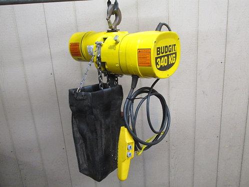 Budgit BEHC5016 Electric Chain Hoist 1/2 Ton 10' Ft. Lift 230/460v 3 PH