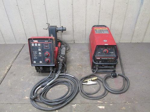 Lincoln Electric Invertec V350-PRO Mig Welder & LN-10 Wire Feeder 1 or 3 Phase