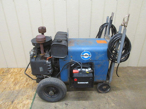 Miller AEAD-200LE Portable Gas Welder Generator AC/DC 225 Amp 4,000W 4 Kw 5 KVA