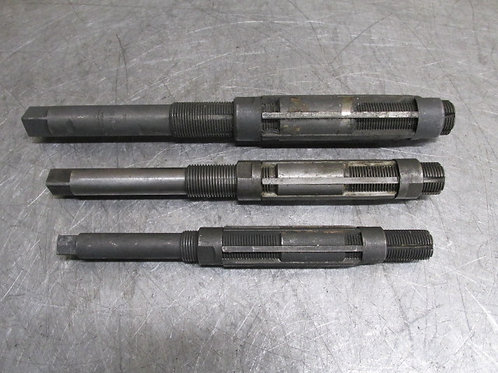 """Morse Critchley Expandable Machinist Reamers 1-11/32"""" - 1-17/32"""" 1-1/8"""" - 1-1/4"""""""