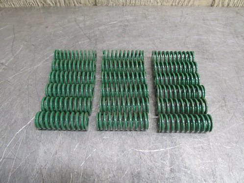 "Danly 9-1208-26 Green Die Spring 3/4"" x 2"" Replacement Spring Lot of 18"