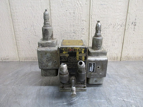 Turchan Follower HD91 Hydraulic Power Unit Double A UA2-175-BW Unloader Valve