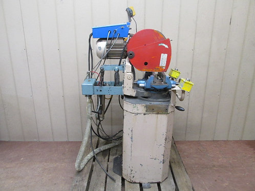 Scotchman Bewo Type CPO-350LT Circular Cold Saw with Pneumatic Auto Down Feed