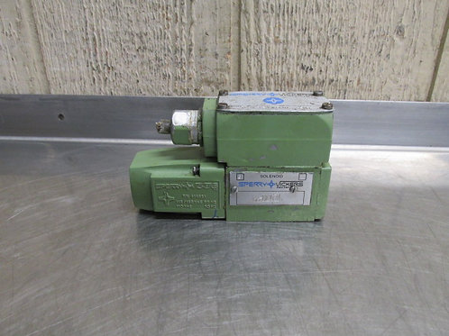 Vickers DG4V-3-2A-W-B-10 S300 Hydraulic Directional Control Solenoid Valve 115v