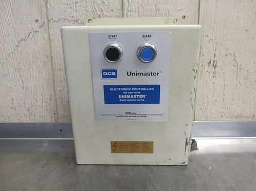 DCE Unimaster 265D1207/1 Dust Collector Controller Starter 208v 3 PH 5 HP 1/4 HP