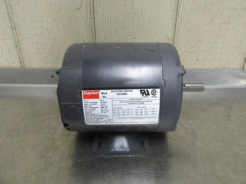 Dayton 2N102BD Electric Motor 1/3 HP 208-230/460v 1725 RPM 3 PH Frame 56