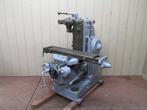 "Milwaukee Model H 2HL Plain Horizontal Mill Milling Machine 3 PH 230v 9"" x 47"""