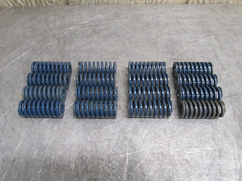 """Danly 9-1207-21 Blue Die Spring Med-High 3/4"""" x 1-3/4"""" Replacement Lot of 16"""