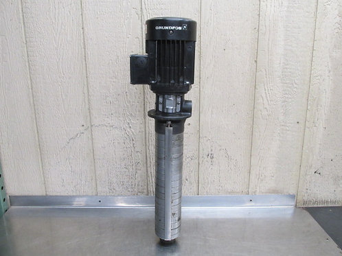 Grundfos SPK2-15/8 A-W-A-CVUV Machine Immersion Coolant Pump 4 - 11.8 GPM