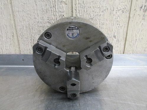"""Pratt Burnerd 1213-12015 8"""" Diameter 3 Jaw Self-Centering Chuck D1-4 Mount"""