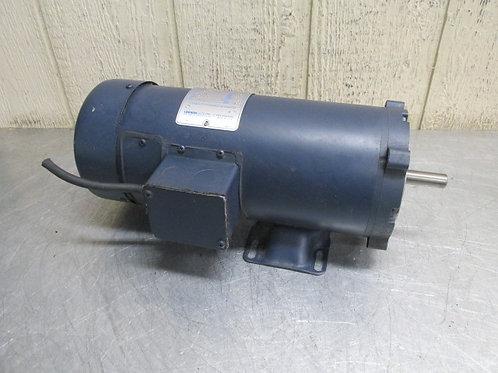 Leeson 108022.00 Permanent Magnet DC Electric Motor 1750 RPM 1 HP 90v