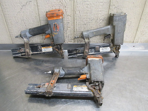 "3 Paslode 3200/50 S16 Air Pneumatic Framing Stapler 1/2"" Crown 16 Gauge 2"" Long"