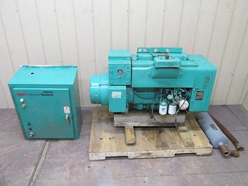 Onan 12.0 Genset Diesel Generator 12 Kw Model 12.0DJC-18R  1 PH or 3 PH