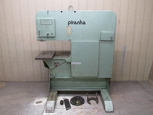 Piranha Model SEP-120 Single End Hydraulic Punch Press 120 Ton Ironworker