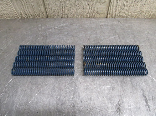 """Danly 9-1224-21 Blue Die Spring Med-High 3/4"""" x 6"""" Replacement Spring Lot of 10"""