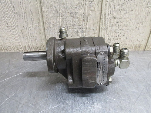 Parker Commercial M20C894QEAB05-43L Hydraulic Motor 2400 RPM Max 8 HP @ 1800 RPM